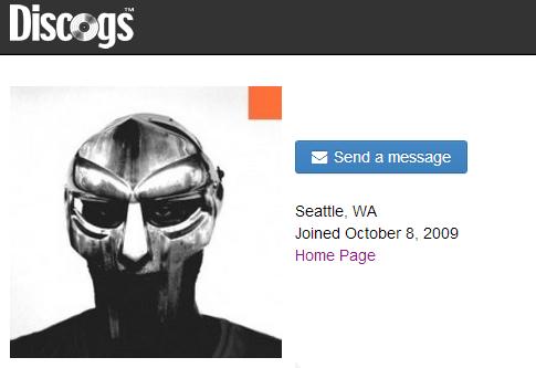 discogs profile