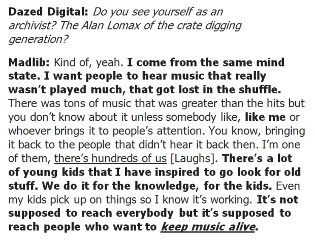 madlib interview
